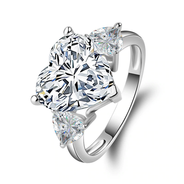 Abundance Heart-Cut Ring
