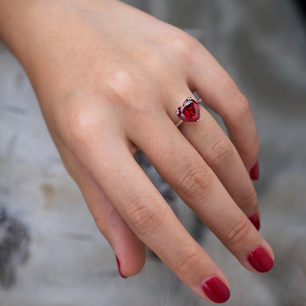 Passion Heart Ring