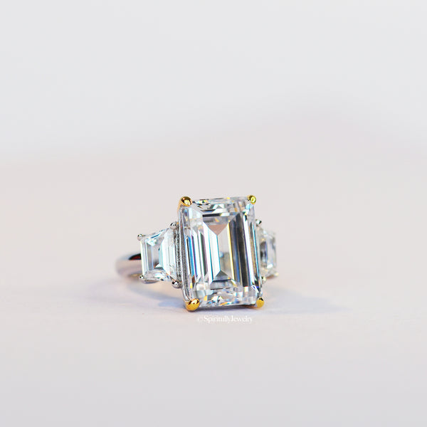 Abundance Emerald-Cut Ring