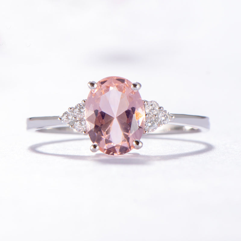 Empowerment Oval-Cut Ring