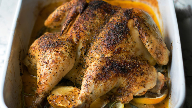 CITRUS SPATCHCOCKED CHICKEN
