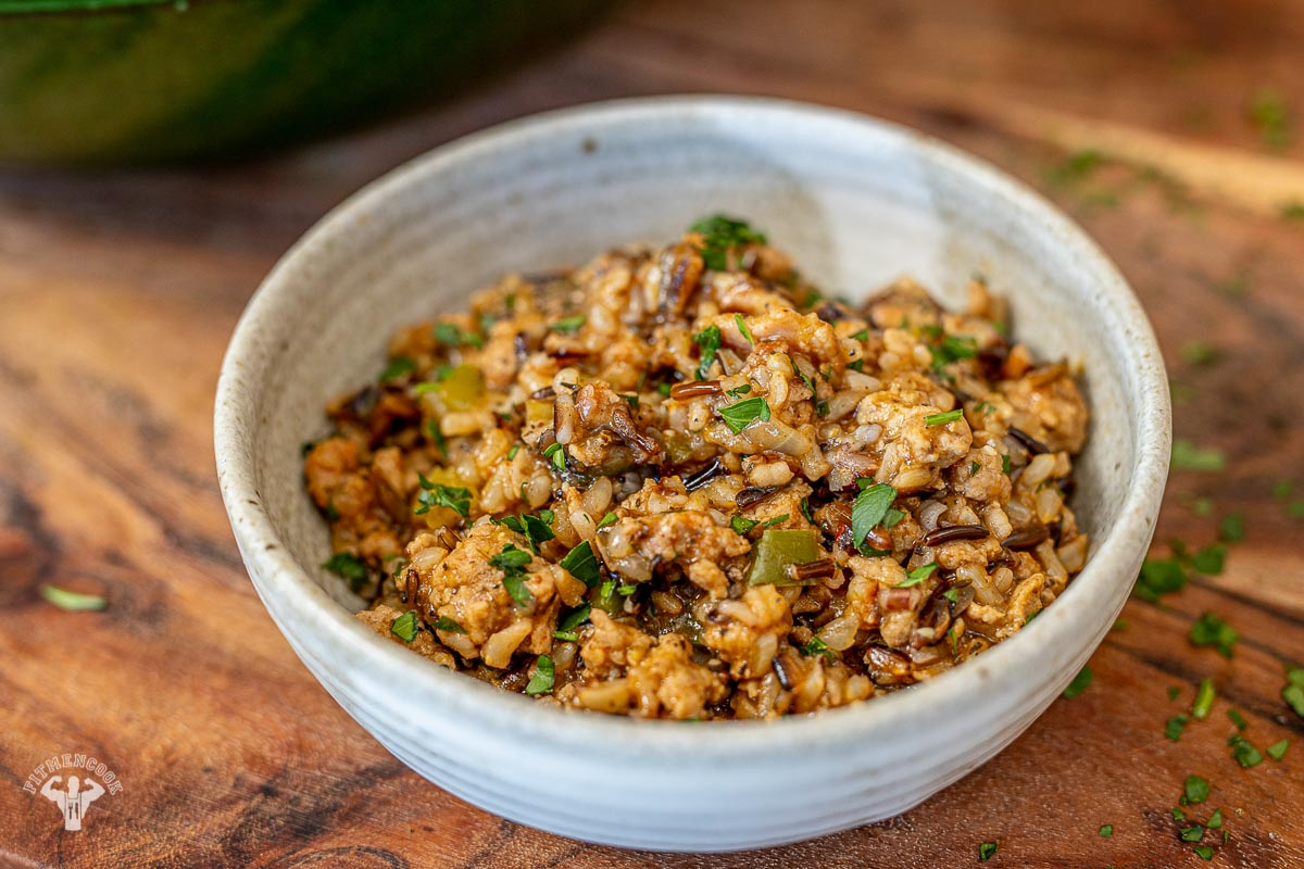 Wild Cajun Dirty Rice