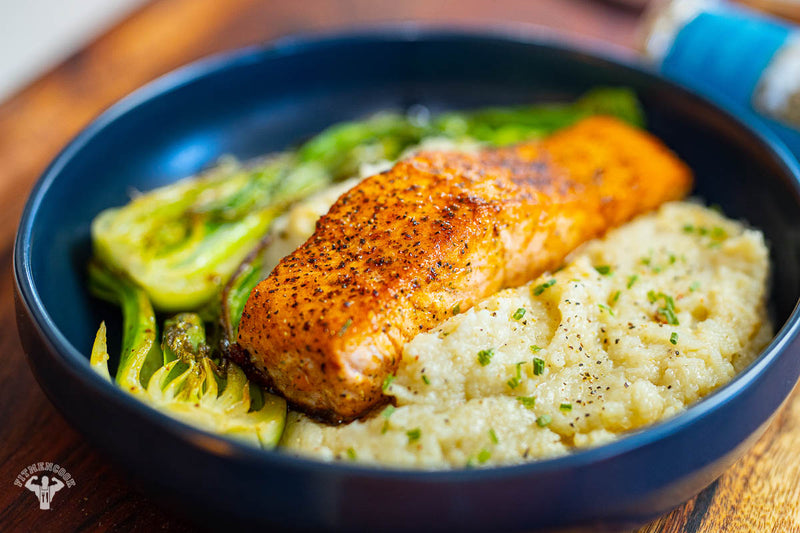 Salmon & Cauliflower Mash