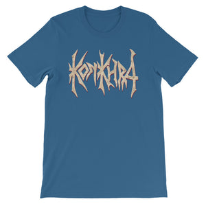KONKHRA - LOGO (All colors/Front Print/Short-Sleeve Unisex T-Shirt)