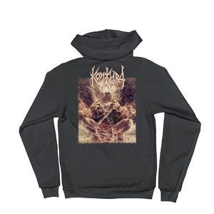 KONKHRA - ALPHA AND THE OMEGA (Multiple colors - Hoodie sweater w. large back print)