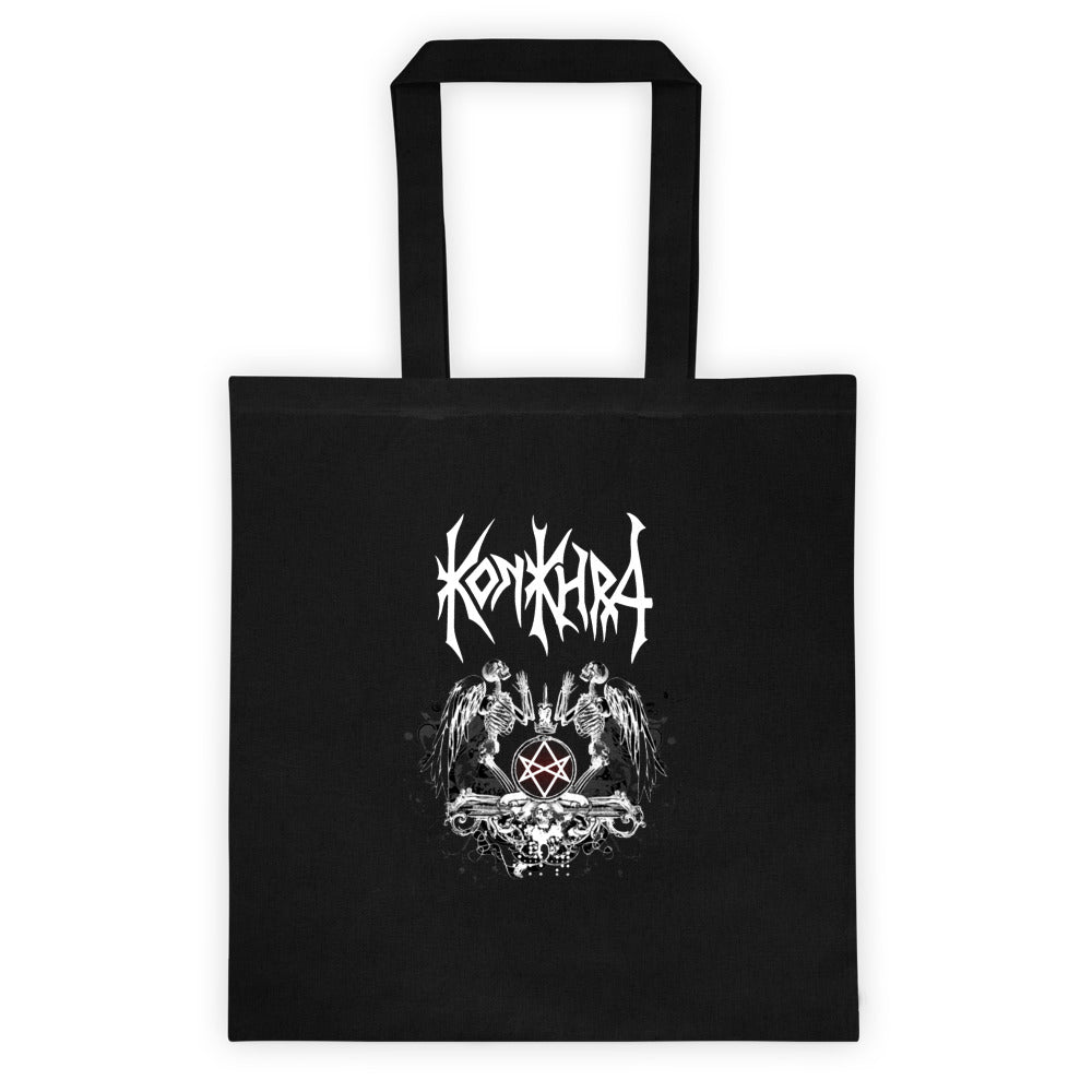 KONKHRA - NOTHING IS SACRED/VERY FUCKING METAL (Black Tote bag)