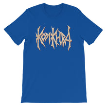 Load image into Gallery viewer, KONKHRA - LOGO (All colors/Front Print/Short-Sleeve Unisex T-Shirt)