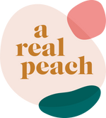 a real peach studio logo austin texas
