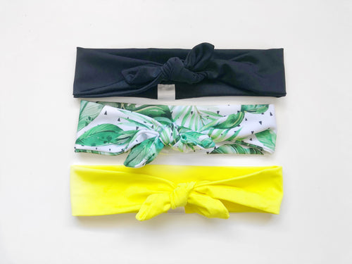 Spring/Summer SWIM Top Knot Headwraps
