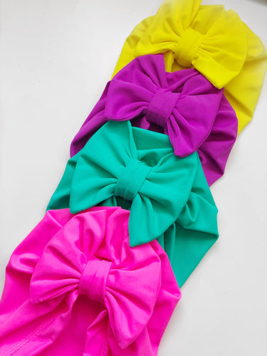 Spring/Summer SWIM Bow Beanies