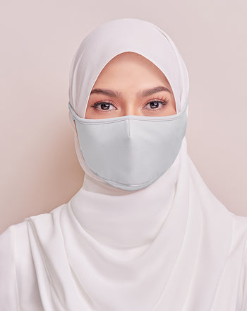 Reusable Face Mask in Lite Grey