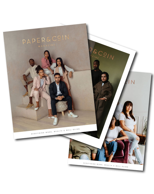 PAPER & COIN Magazine Bundle Vol 1, 2 & 3