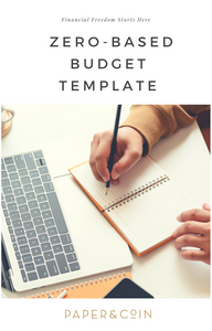 Zero-Based Budgeting Template