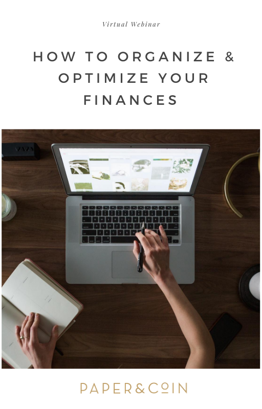 How to Organize and Optimize Your Finances | Virtual Webinar