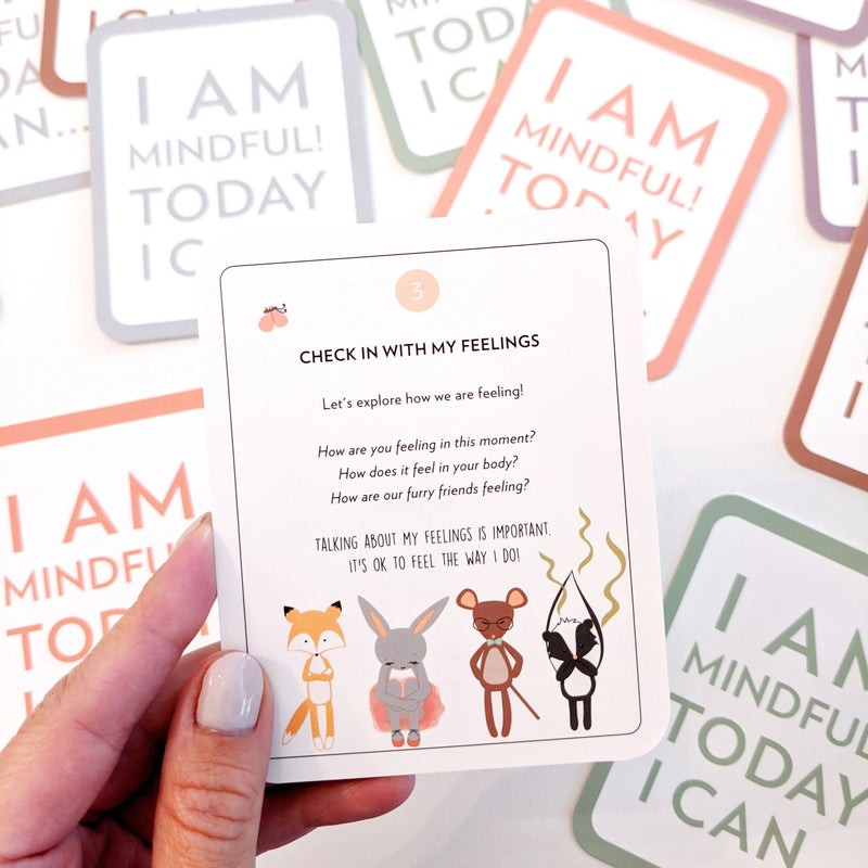 Mindfulness Cards For Kids