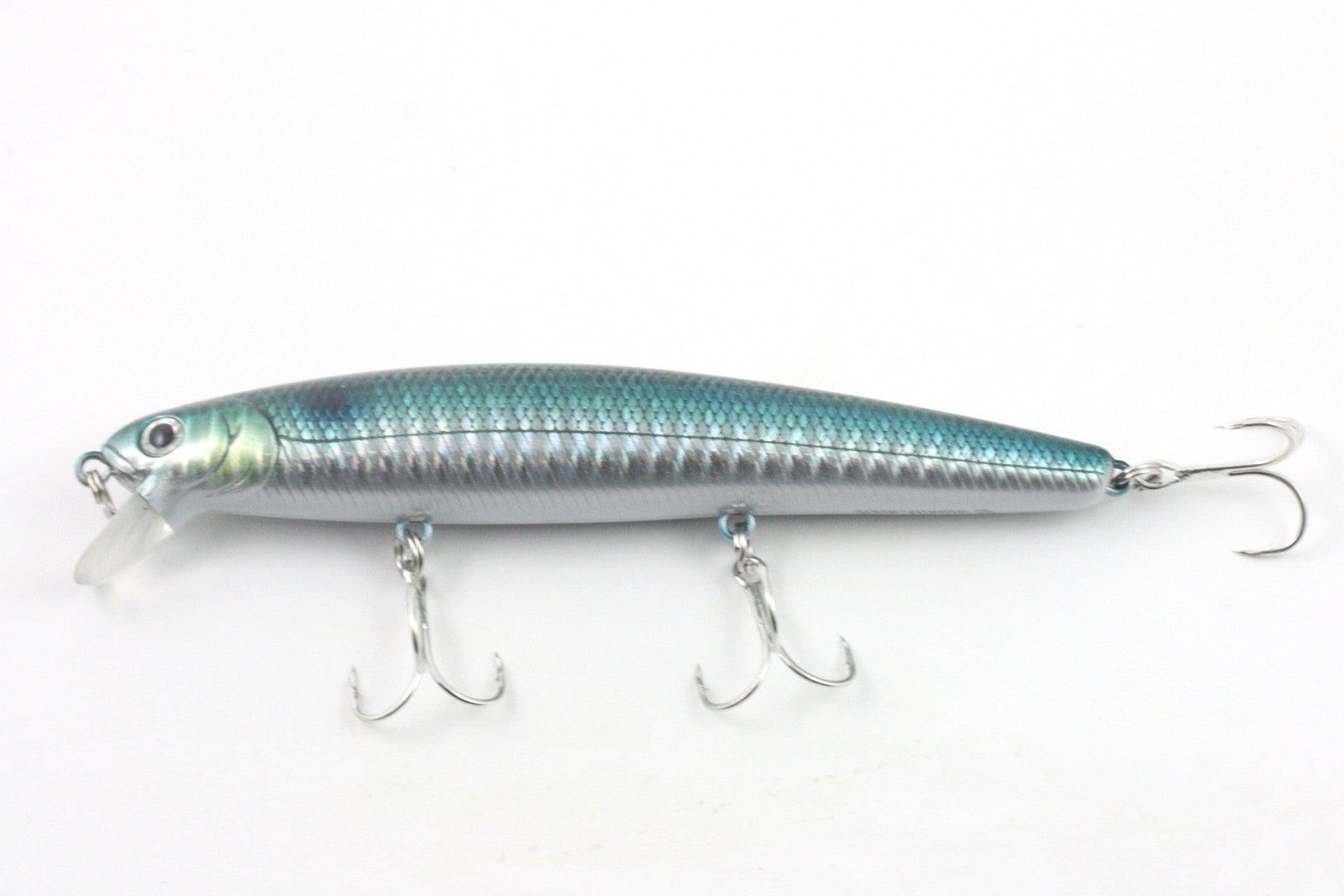Lucky Craft Flash Minnow 110 Cif Jerkbait Tackle Express Mini Popper Lure Laser