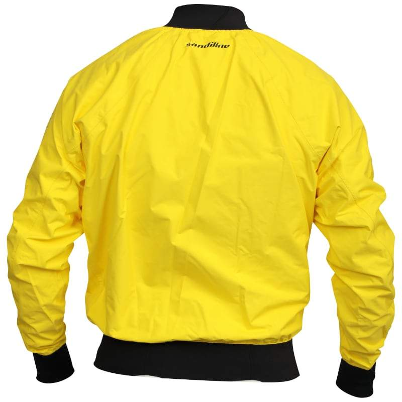 Sandiline 3L Race Jacket yellow bak
