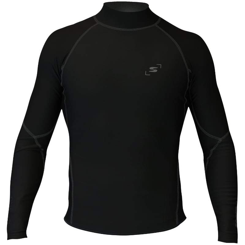 Sandiline One42 long sleeve shirt 0.5 mm neoprene black
