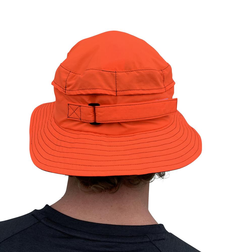 Vaikobi Downwind surfski hat orange back