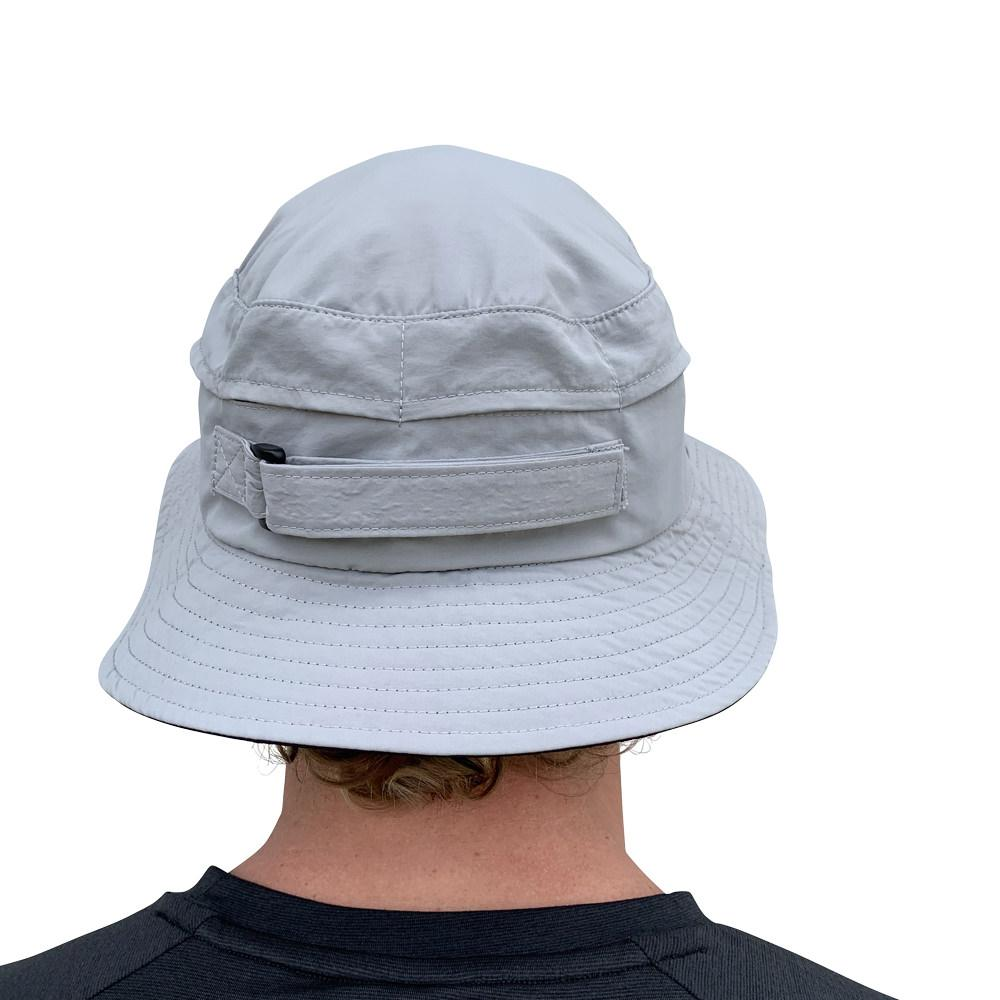 Vaikobi Downwind surfski hat grey back
