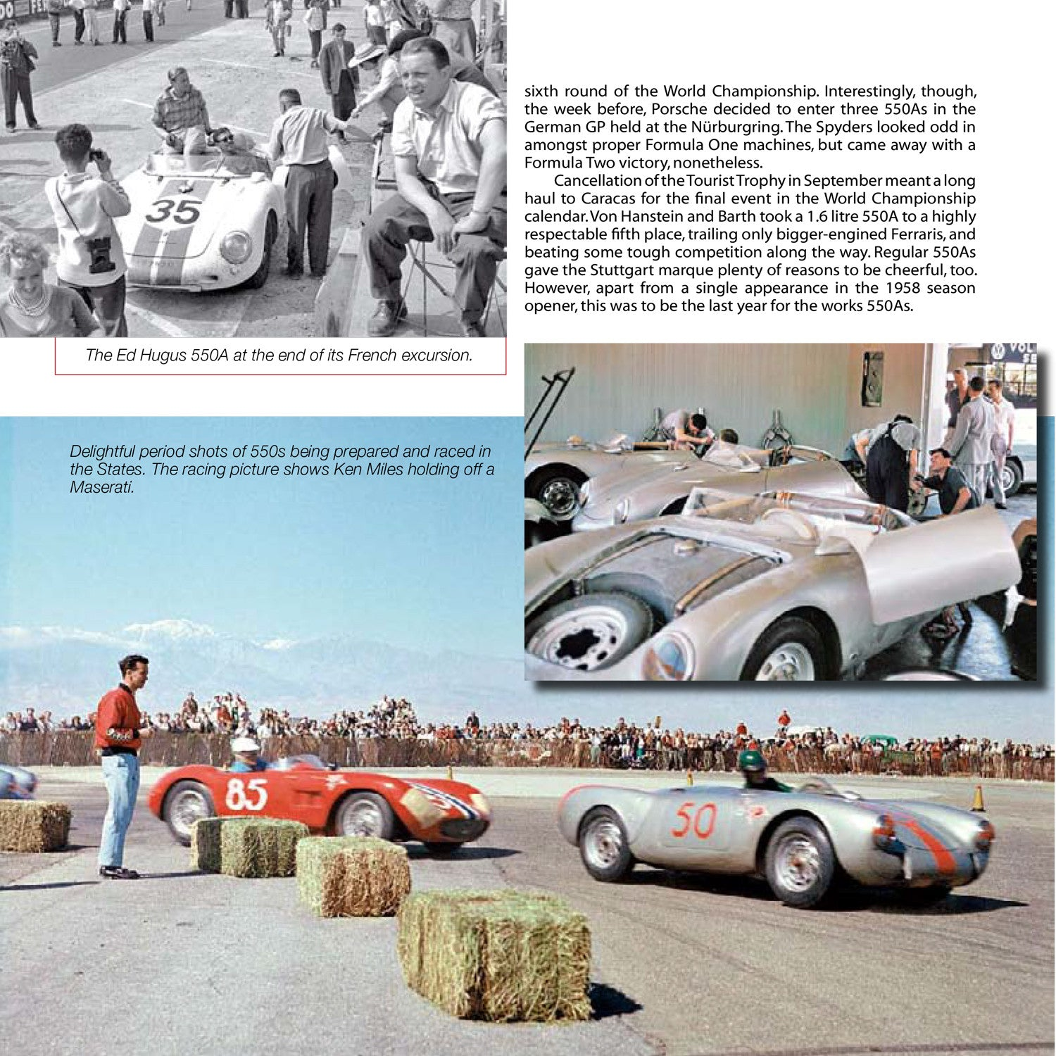 Porsche Racing Cars - 1953 to 1975