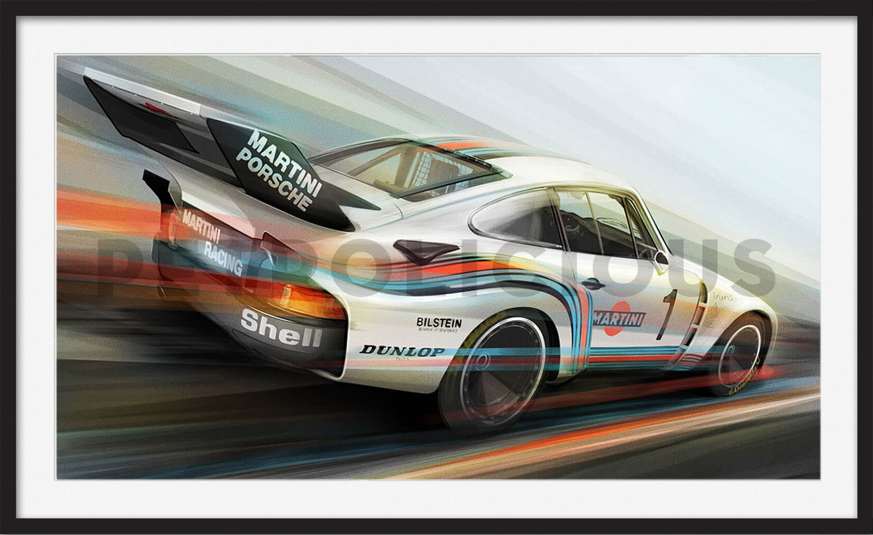 Martini Racing Porsche 935 Limited Edition Print