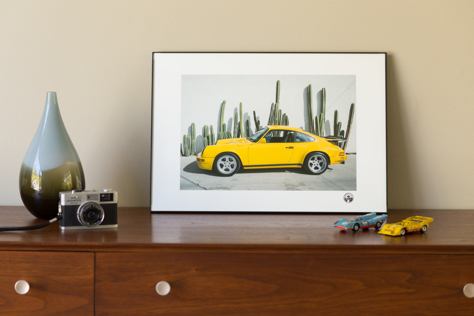 Petrolicious Official Print - RUF CTR Yellow Bird 911