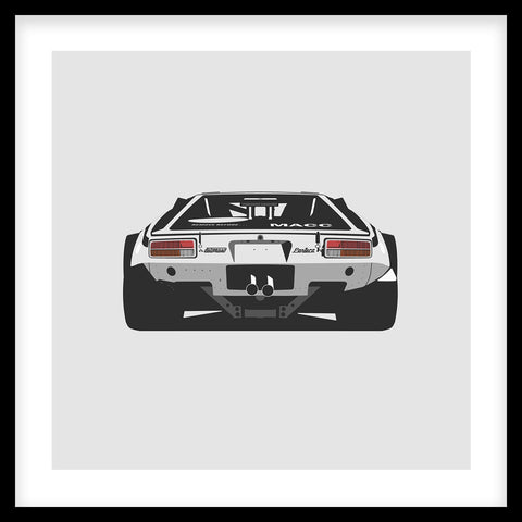 Pantera Rear Artprint