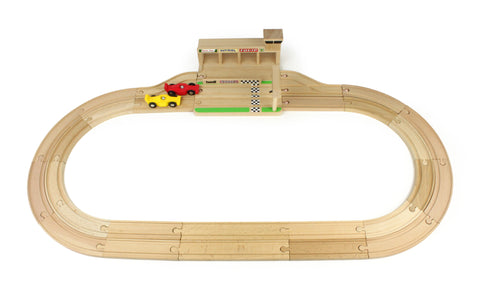 Wooden Race Track