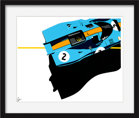 Gulf Porsche 917 Speed Icons Limited Edition Print