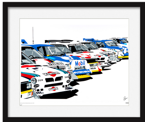 Group B Rally Speed Icons Legends Limited Edition Print