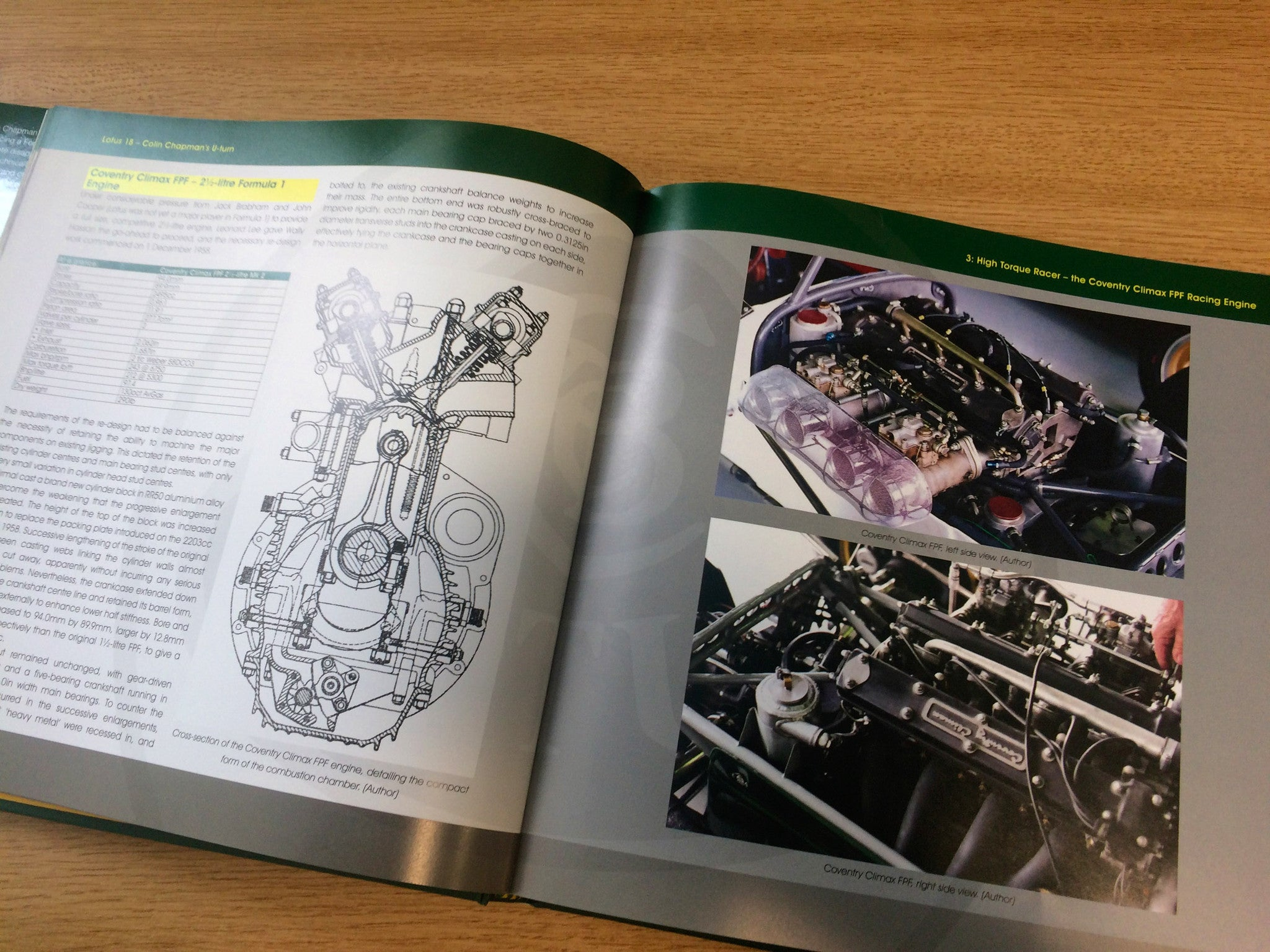Lotus 18 – Colin Chapman's U-turn