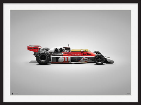 McLaren M23 – Colors of Speed Poster