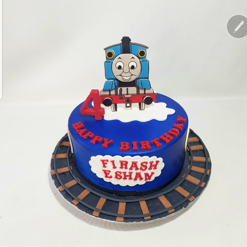 Thomas Engine Cake