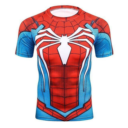 T-Shirts Compression Marvel