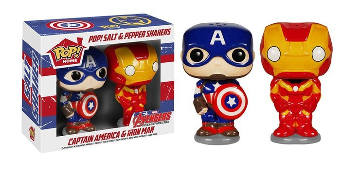 figurine pop marvel captain america