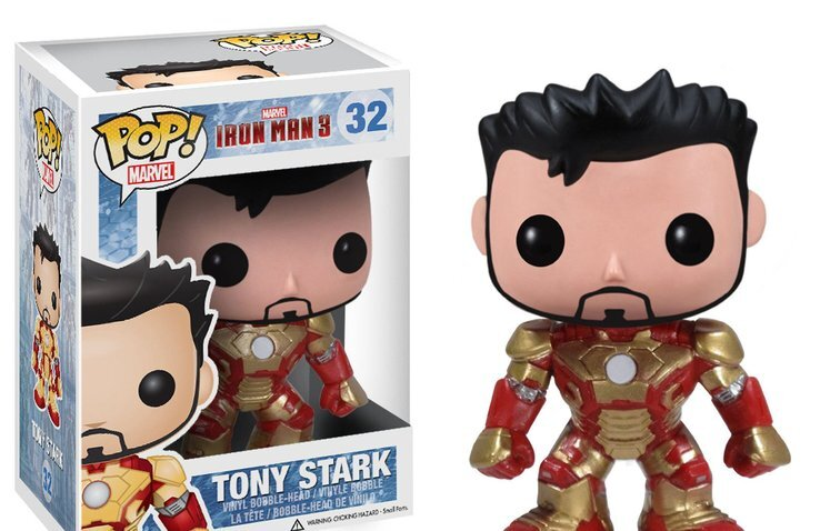 figurine pop marvel tony stark