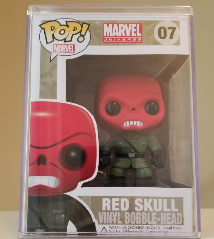 figurine pop marvel red skull
