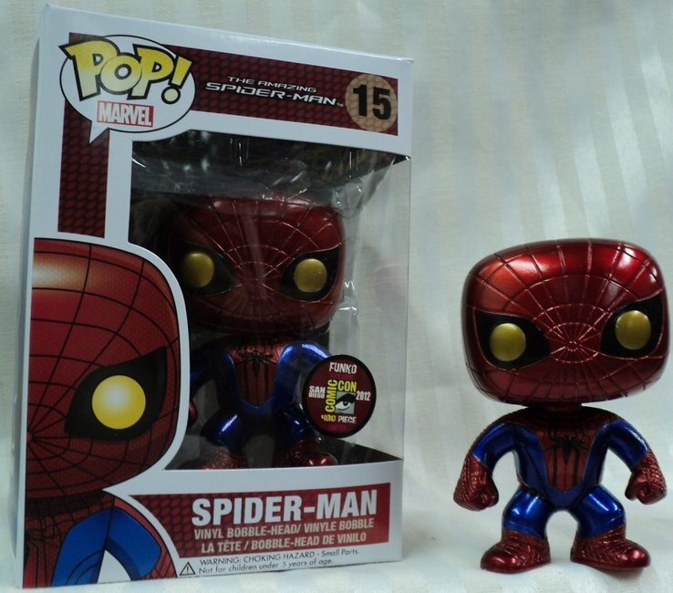 figurine pop marvel spiderman