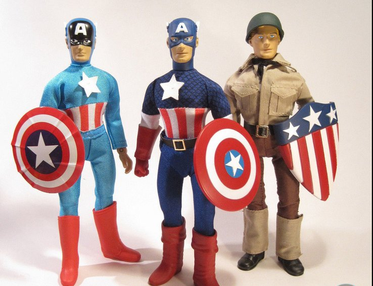 figurine marvel captain america