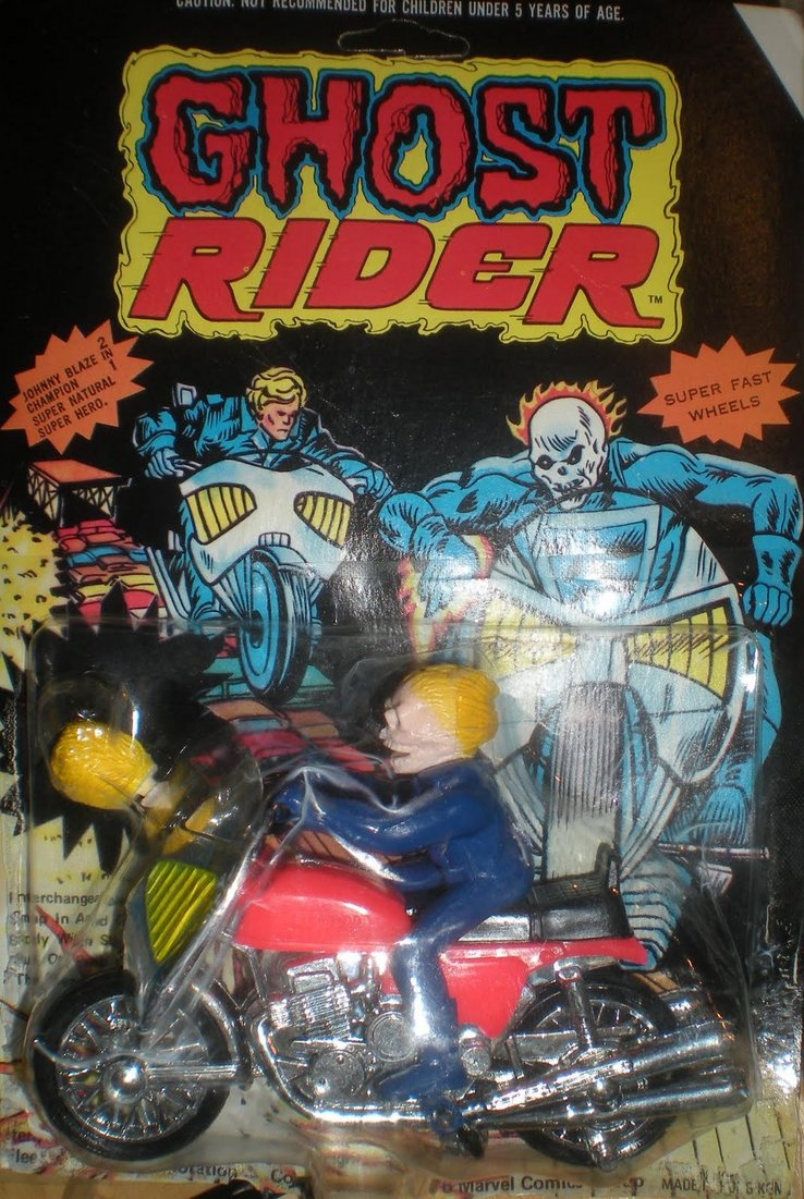 figurine ghost rider