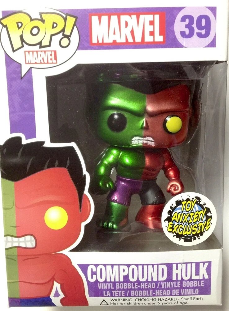 figurine pop marvel hulk