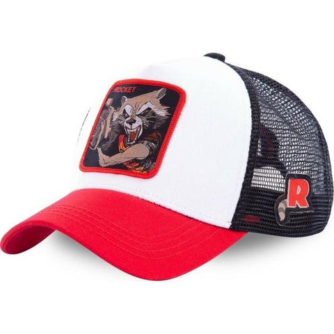 Casquette Marvel Trucker Rocket