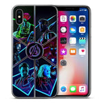 Coque Iphone Avengers V2 Neon-Marvel World Shop