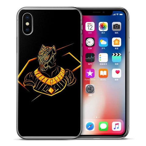 Coque Iphone Erik Killmonger-Marvel World Shop