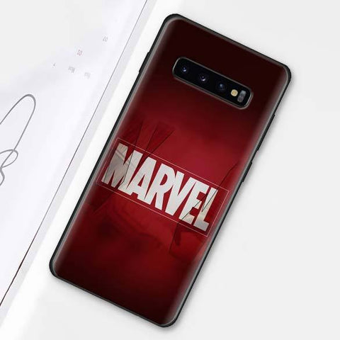 Coque Samsung Marvel Logo-Marvel World Shop