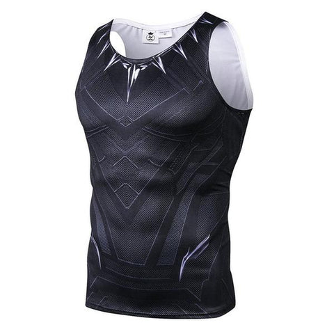 Débardeur Black Panther Musculation-Marvel World Shop