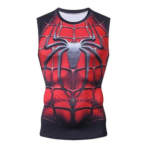 Débardeur Spiderman Musculation-Marvel World Shop