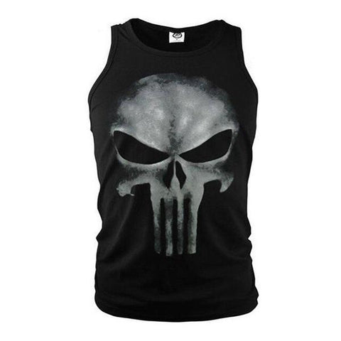 Débardeur The Punisher Musculation-Marvel World Shop