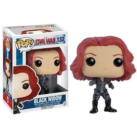 Figurine Pop Marvel Black Widow Civil War